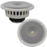 "DC GOLD AUDIO N5R 5.25"" Reference Series Speakers - 4 OHM - (Pair) White"