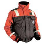 Mustang Classic Bomber Jacket w/SOLAS Tape - XX-Large - Orange/Black