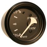VDO Allentare Black Trim Gauge - For Use w/Mercury/Volvo/Yamaha 2001+ Engines - 12V - Black Bezel