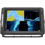 Lowrance Elite-12 Ti² Inland w/Active Imaging™ 2-in-1, Mid/High Skimmer & Y Cable