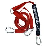 Hyperlite Nylon Webbing Boat Tow Harness - Red