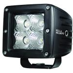 Hella Marine Value Fit LED 4 Cube Flood Light - Black