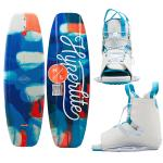 Hyperlite Divine Wakeboard 134cm w/Allure Boot - 2021 Edition