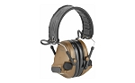 3M/Peltor, ComTac V, Electronic Earmuff, Headband, Foldable, Coyote Brown Color