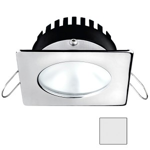 i2Systems Apeiron A506 6W Spring Mount Light - Square/Round - Cool White - Polished Chrome Finish