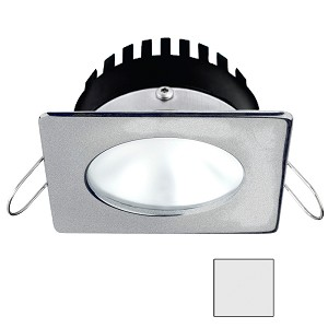 i2Systems Apeiron PRO A506 - 6W Spring Mount Light - Square/Round - Cool White - Brushed Nickel Finish