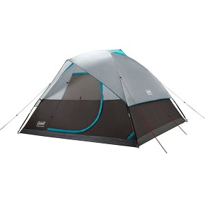 Coleman OneSource Rechargeable 6-Person Camping Dome Tent w/Airflow System & LED Lighting