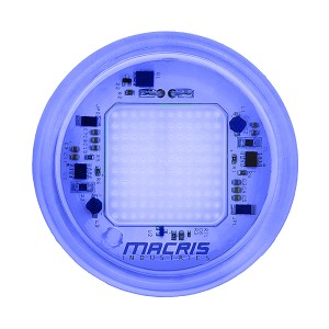 Macris Industries MIU Round Underwater Series Size 10 (18W) - Royal Blue