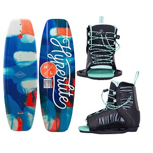 Hyperlite Divine Wakeboard 119cm w/Jinx Boot - Junior - 2021 Edition
