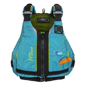 MTI PFDiva Women's Life Jacket - Glacial Blue - Small/Medium