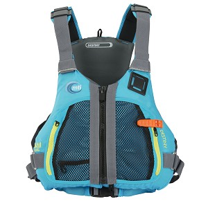 MTI Destiny Women's Life Jacket - Tropical Blue - Small/Medium