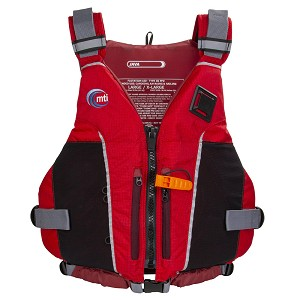 MTI Java Paddling Life Jacket - Red/Russet - X-Large/XX-Large