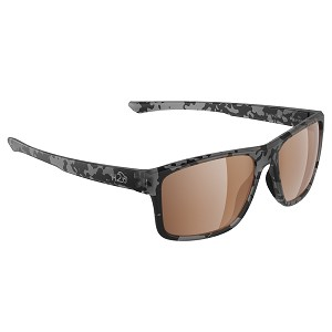 H2Optix Coronado Sunglasses Matt Tiger Shark, Brown Lens Cat. 3 - AR Coating
