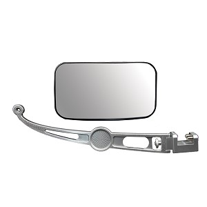 PTM Edge PXR-100 Pontoon Mirror Package - Silver