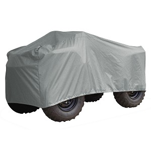 Carver Performance Poly-Guard Medium ATV Cover - Grey