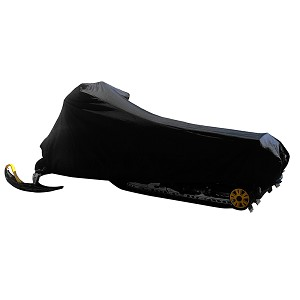Carver Sun-Dura Medium Snowmobile Cover - Black